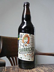 Shamrocker Potato Stout (knightbefore_99) Tags: canada black beer vancouver notebook island bottle bc drink granville cerveza craft potato stout hops pivo shamrocker