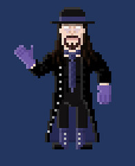 The Undertaker Pixel Art