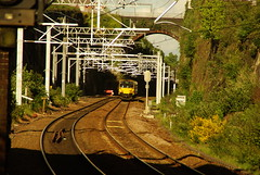 The recently electrified approach to Wavertree Technology park (craig1102003) Tags: copyright t photo all c rights craig reserved bennett