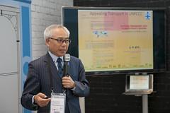 Professor Yoshitsugu Hayashi presenting
