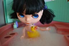 Blythe Amelia (pe.kalina) Tags: bathroom bath doll blythe basaak