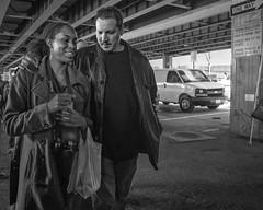 Baltimore, 2015 (Alan Barr) Tags: street people blackandwhite bw monochrome mono blackwhite market candid streetphotography maryland baltimore panasonic sp streetphoto 2015 gx7