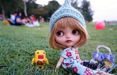 An evening at the park..............