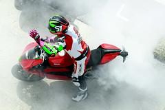 Smoke WDW16 (Strocchi) Tags: world race canon smoke sigma week wdw ducati panning pista tyre gomma fumo gara 2016 50500mm misano canonacademy eos7d