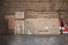 regulations (Trevor Pritchard) Tags: hepburn saskatchewan museum wheat july 2016 grain elevator regulations rural prairies