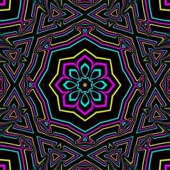 CYMK Kaleidosopce (Kaleiope Studio) Tags: kaleidoscope abstract symmetrical symmetry