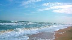 WP_20150823_12_47_34_Pro. (julia.samoilenko) Tags: sea summer holidays ua ukraine azov nature water landscape fascinating beautiful marvelous tremendous waves day blue colourful colorful colours colors