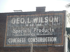 Ghost Sign, Pittsburgh (neshachan) Tags: georgelwilsonghost signdead signpittsburgh pa pittsburgh sign