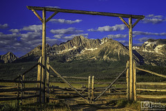 The gate to the Sawtooth Range (Dave Arnold Photo) Tags: ranch morning wild sky usa cloud mountain hot tree sexy ass beautiful sex rural forest canon fence naked nude landscape photography spread us photo big high fantastic gate tit photographer outdoor farm awesome id arnold pussy central scenic picture peaceful peak pic idaho photograph american stanley huge wife upskirt serene rancher range iconic milf idyllic sawtooth custercounty sawtoothrange 24105mm davearnold alpinepeak williamspeak 5dmkiii davearnoldphotocom