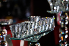 (Laszlo Papinot) Tags: queenvictoriamarket melbourne glass chrystal shot shotglass row