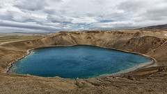 Crater Vti (marko.erman) Tags: crater vti mvatn iceland islande volcano explosion eruption volcanic lake fire landscape beautiful geology wideangle uwa sony water