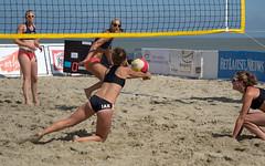 18050537 (roel.ubels) Tags: belgium beach beachvolley beachvolleybal beachvolleyball volleybal volleyball sport topsport kwalificatie qualification 2016 knokke knokkeheist
