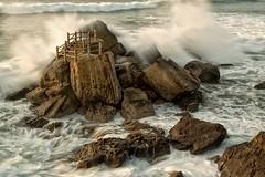 Portugal (H. Kiehn Photography) Tags: fels meer brandung