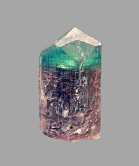 Elbaite (Ron Wolf) Tags: earthscience elbaite geology mineralogy tourmaline crystal cyclosilicate hexagonal mineral nature maine
