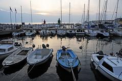 Marina at dusk, Piran / Slovenia (anji) Tags: slovenia slovenija piran pirano adriaticsea istra istria exyu exyugoslavia southeasteurope