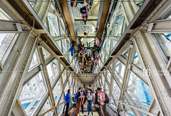 Tower Bridge, London, UK (davidgutierrez.co.uk) Tags: london city architecture art photography davidgutierrezphotography nikond810 nikon urban interior color londonphotographer travel bridge people uk towerbridge towerbridgeexhibition glassfloor glass colors colour colours colourful vibrant photographer england unitedkingdom  londyn    londres londra europe beautiful cityscape davidgutierrez capital structure britain greatbritain ultrawideangle afsnikkor1424mmf28ged 1424mm d810 arts landmark attraction historic reflection iconic icon touristattraction riverthames highlevelwalkways symmetry perspective towerhamlets southwark person street mirror