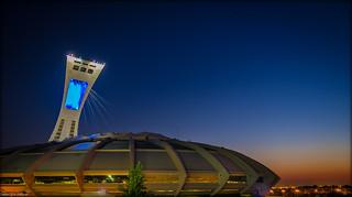 Stade olympique de Montréal ( 40 ans déjà !)