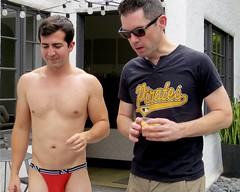 IMG_6607 (danimaniacs) Tags: man guy sexy shirtless underwear jockstrap party gay
