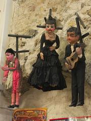 Scary Marionettes (tortipede) Tags: sony a500 1870 zoom fromraw rawtherapee holiday france frana occitanie midi migjorn migjorn languedoc lengadoc llenguadoc hrault herault erau pzenas musedujouet toy museum oldtoys geotagged geo:lat=4346231 geo:lon=342292 occitnia