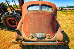 1948 (KPortin) Tags: junkyard lewiscounty cowlitzriverroad rusting rustyandcrusty