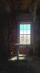 Abandoned. (k00k00kachoo) Tags: california road trip house abandoned window table town chair mining creepy wanderlust adventure explore bodie dwelling