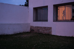 interieur (csamperezbedos) Tags: nuit lumires light fentre tanger mur cour maison crpuscule sunset angle