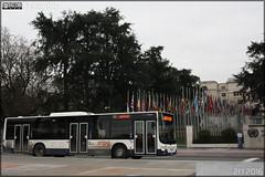 Man Lion's City - Globe Limousine / TPG (Transports Publics Genevois) n1938 (Semvatac) Tags: semvatac photo bus tramway mtro transportencommun man lionscity globelimousine tpg transportspublicsgenevois 28 placedesnations genve suisse