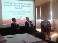 How can business as usual include climate action from SMEs? session at #MEFLsparks2016 (John Englart (Takver)) Tags: climate climatechange meflspark2016 moreland business sme
