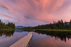 Change Your World (Wayne Stadler Photography) Tags: camping bc landscape sunset serene pier quiet explore dusk dock photographer travel lakes lasalle pristine canada jetty sky lake britishcolumbia