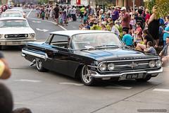 4 door Chevrolet - Jacaranda Parade 2015 (sbyrnedotcom) Tags: 2015 people events grafton jacaranda parade rural town chevrolet sedan 4door wide nsw australia