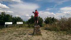 Auf dem Gipfel des Petersbergs
