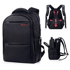 Laptop Backpack - Computer Bag Water Resistant Slim Lightweight Anti-theft Zipper Design Sports Gym Bag Travel Backpack Business Computer Bag Up to 15.6 inch for Men by Vitalismo (wupplestravel) Tags: 156 antitheft backpack business computer design inch laptop lightweight resistant slim sports travel vitalismo water zipper