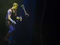 Juggling on a Skateboard (Ang1852) Tags: juggling circus hippodrome greatyarmouthshow