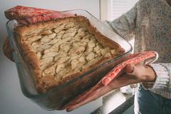 Post oven (gail m tang) Tags: helsinki finland myhelsinki pie blueberry apple baked homemade homebaked