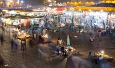 Night Market - Marrakesh (JoeyHelms Photography •2.5MViews&10kFollowers•) Tags: africa people night place market outdoor el morocco marrakech marrakesh arabian crowds lightroom fna jemaa joeyhelms joeyhelmsphotography