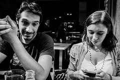 Seduta in quel caff, io non pensavo a te. (stars`bread) Tags: friends boy portrait people blackandwhite woman man guy love girl donna couple giorgia noiretblanc andrea femme uomo amour amis amici fille ritratto amore biancoenero homme garon ragazza coppia ragazzo canoneos100d
