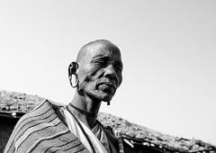 Maasai Tribeswoman With Long Ears, Nakuru County, Nakuru, Kenya (Eric Lafforgue) Tags: africa portrait people blackandwhite woman tourism horizontal closeup outdoors person photography necklace women day adult kenya african shaved ceremony tribal headshot jewellery human bead copyspace tradition ornate massai tribe nakuru masai maasai adultsonly oneperson bold kenyan eastafrica rift humain traditionalclothing realpeople onewomanonly lookingatcamera ruralscene maassai nonurbanscene 8608 1people pearljewellery africanculture onlywomen ethny ethnicjewel nakurucounty nkamavillage