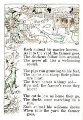 (Oh, the irony of this!) Each animal his master knows (katinthecupboard) Tags: horses bunnies chickens cows sheep reader ducks lamb primer rabbits 1913 farmyard anthropomorphicanimals vintagechildrensillustrations anthropomorphicrabbits vintagechildrensreaders vintagechildrensprimers helengeraldinehodge
