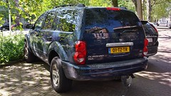 Dodge Durango SLT 4.7 V8 (sjoerd.wijsman) Tags: auto blue holland cars netherlands car blauw nederland thenetherlands denhaag voiture bleu vehicle dodge holanda autos blau suv import paysbas durango olanda fahrzeug bluecar niederlande zuidholland carspotting donkerblauw dodgedurango bluecars carspot 13052015 sidecode6 01tztr