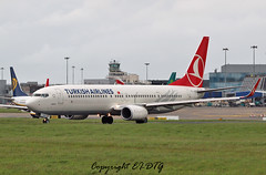 Boeing 737-9F2ER TC-JYC Turkish Als (EI-DTG) Tags: boeing dub turkish dublinairport b737 planespotting boeing737 collinstown aircraftspotting eidw runway28 babyboeing tcjyc busstopjet 17may2015