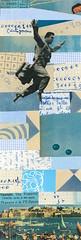 Gravity's a Bitch (kurberry) Tags: collage cutpaste vintageephemera