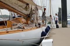 We're going to need a bigger boat (stuartbravery22) Tags: ocean sea water vintage fun boats 50mm nikon sailing yacht retro adventure sailor hamble swa pricey