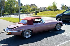 Jaguar E-Type Series 3 roadster east kilbride 2015 (seifracing) Tags: 3 cars scotland europe glasgow scottish police east e type series british jaguar emergency corvette polizei spotting services strathclyde scania roadster etype ecosse kilbride 2015 seifracing