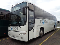 K20DUX Coracle Coaches in Blackpool (j.a.sanderson) Tags: blackpool coraclecoaches k20dux irisbus 397e1231 eurorider plaxton paragon most probably used be yn05uuj yelloway m77yel t4jbt