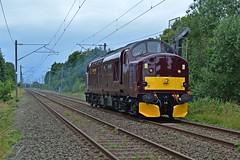 12-07-16 West Coast Railways 37516 - 0Z37 Carnforth - Butterley (Lukas66538) Tags: west home coast farm railway class company croft 37 railways steamtown fannys carnforth 375 alsager butterley wcrc 37516 0z37