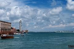 The light house, Murano Island, Italy (hexaphobic) Tags: sea italy lighthouse clouds island nikon murano d60 nikond60