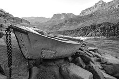 The Ross Wheeler (9bladed) Tags: arizona bw blackwhite blackandwhite boat coloradoriver grandcanyonnationalpark metal nature outdoors river rock thegrandcanyon unitedstates supai