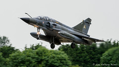 Mirage 2000 of Ramex Delta lands at Fiarford (DrAnthony88) Tags: armeedelair mirage2000n modernmilitary nikkor200400f4gvrii nikond810 raffairford ramexdeltatacticaldisplay royalinternationalairtattoo2015 jellyair aircraft