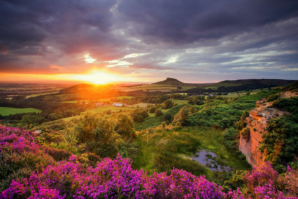 The World's Best Photos of northyorkshire and tramonto ...
