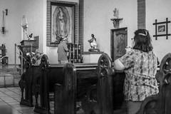 Pray (IVAN M3JIA) Tags: blackandwhite fav1 pray church catholic arizonachurch god christ virginmary mary resando resa prayer iglesia iglesias